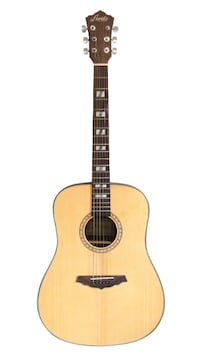 Solid Top cedar acoustic guitar 41 inch full size brand new Vaughan