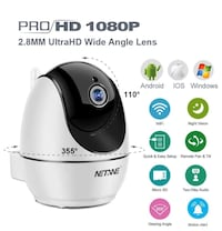 WiFi IP Camera 1080P, Security Camera, Indoor Home Camera for Pet Dog