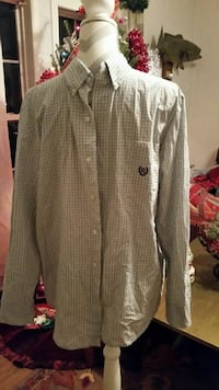 Chaps dress shirt size medium