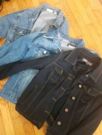 From brand new to never used jean jackets $25 Vancouver, V5P 2C5