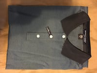 black and white stripe button up dress shirt Rosemead, 91770