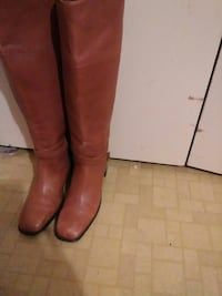 Leather boots size 91/2 Brownsville, 78526