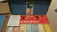 1960s monopoly board game 5 km