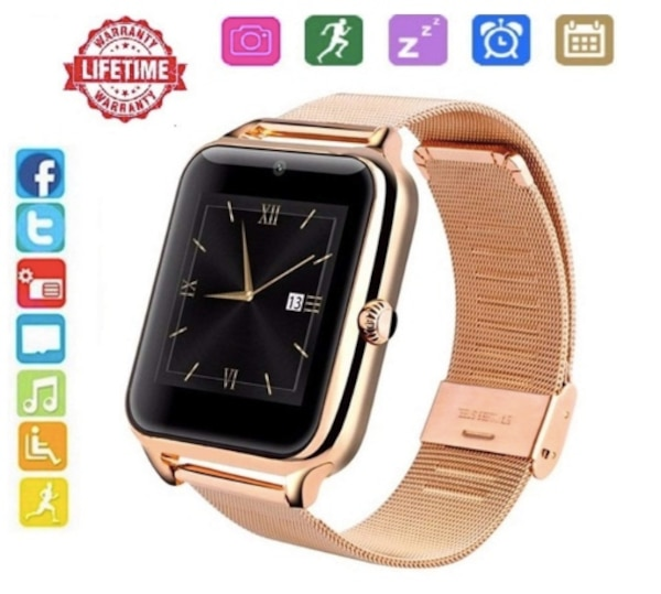 e8609179be0c Brand New Seal in Box Bluetooth Smart Watch for Andorid with Camera SIM  Card Slot