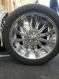 """4- 22"""" tires and rims plus 22"""" spare Henderson, 89052"""