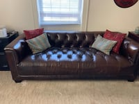 Leather couch like new. Moving/smaller office. Gorgeous& comfortable  Washington, 20008