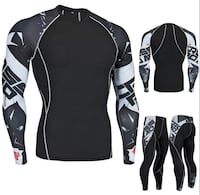 Top and bottom compression shirt and pants Richmond, V6Y 3G7