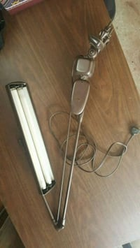 Vintage architect desk light