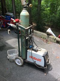 Welder with tank and custom cart Central, 29630