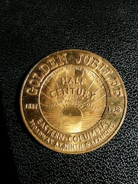 Eastern Colombia 1938 Coin