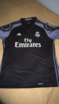 Black and white adidas fly emirates jersey shirt Los Angeles, 90037