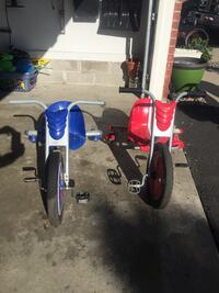 toddler's blue and red trike Ramsey, 55303