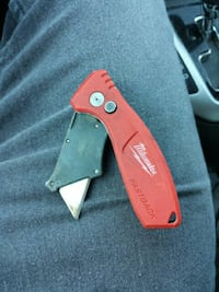 red Milwaukee folding knife Bakersfield, 93305