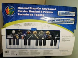 Musical Step- On Keyboard