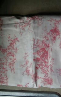 white and pink floral textile 362 mi