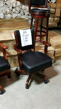 Sold wood game room chair Mississauga, L4X 1L1