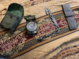 Military Compass and Cutter