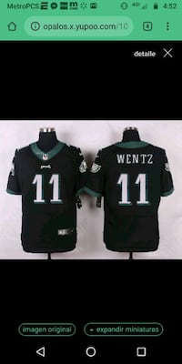 black and green NFL jersey Sunland Park