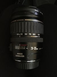 canon 28-135 USM IS lens with filter Garden Grove, 92845