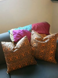 Punk,red and blue  throw  and pillows Kitchener, N2N 2L6