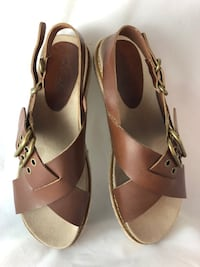 GIFT?   Axxiom Women's 8M Boy/Men 6.5 Buckle Sandals West Des Moines