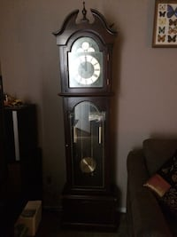 brown wooden grandfather's clock Smithville, 37166
