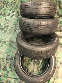225/60/18   4 tires like new!  Tolland, 06084