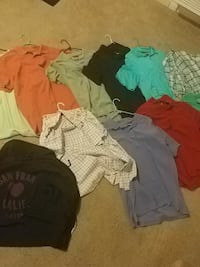 Various polos and button ups. XL all