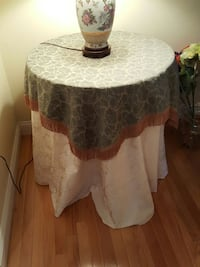 gray and brown table cloth and table Haverhill, 01830