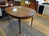 Rose wood dining table (T184) - discounted - $125