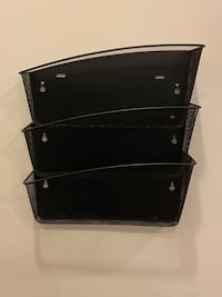 Detachable Metal Wall Rack/Mail Sorter