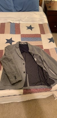 gray and black button up jacket Baltimore, 21230