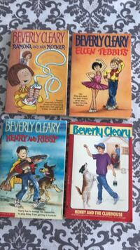 4 Beverly Cleary Books.