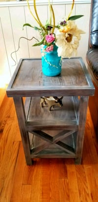 Custom side table made to order