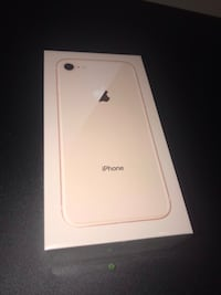 Unlocked iPhone 8 64 GB Gold in original packaging (never used) Ottawa, K4A 0W3