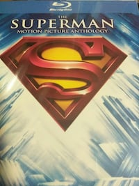 The Superman Motion Picture Anthology DVD movie ca