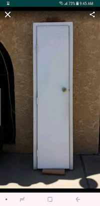 white and brown wooden cabinet El Paso, 79936