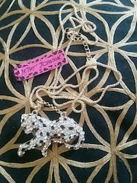 Betsey Johnson white tiger,gift? Trondheim, 7099