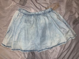American Eagle Chambray Skirt