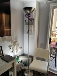 Modern Silver Chrome Floor Lamp Toronto, M5G