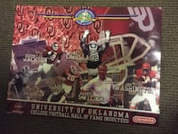 OKLAHOMA SOONERS FOOTBALL POSTERS Oklahoma City