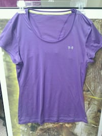 Womens Medium Purple Under armour Shirt Sterling, 20165