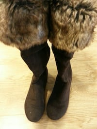 Brown woman tall boots - size 7 Halifax, B3M