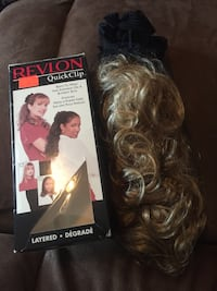 Revlon SYNTHETIC Quick Clip Hair Extentions - Various Colors Calgary