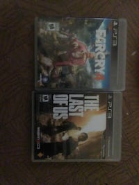 far cry 4 and the last of us ps3 games Toronto, M5A 2R6