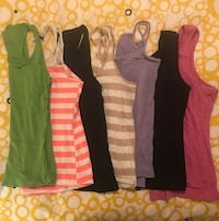 Lot of 7 Medium Ladies tank tops Toronto, M8Y 3L7