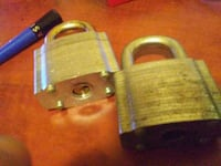 Master locks both for 25 or 15 each Vancouver