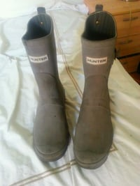 Hunter boots men's-size 8 (40/41) Toronto, M5R 2Z5