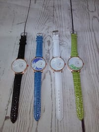 4 New Beautiful Watches , price for All .. Frederick