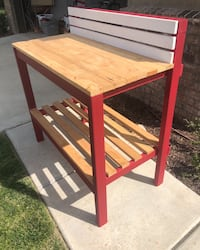 Red Potting Bench  Temecula, 92592